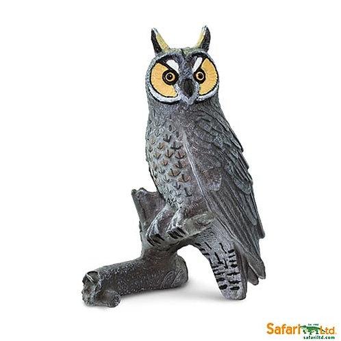 Safari Ltd – Long Eared Owl (Wings of the World Birds) 100093