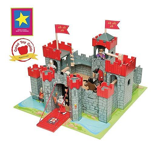 Le Toy Van – Wooden Lionheart Castle