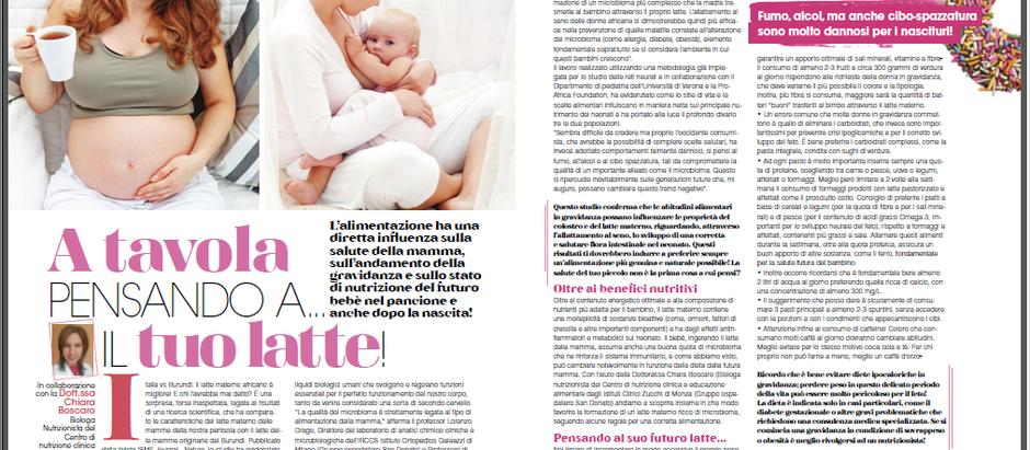 Il latte materno: come offrire il meglio al nostro bimbo
