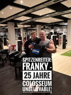 Frank 25 Jahre dabei
