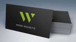 Velvet Laminated Business Cards