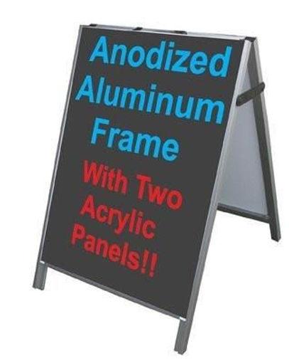 A - Frame Sign