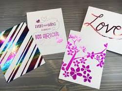 Meta lFoil Business Cards