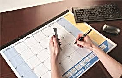 Desk pad