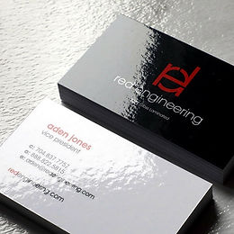 1000 - Laminated Business Cards