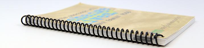 Spiral Bind books