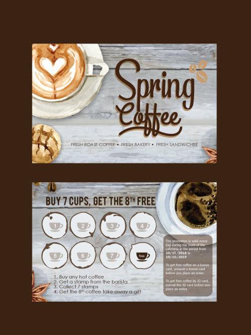 Loyalty Cards/ Coffee Cards/ Reward Cards