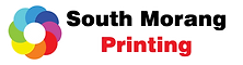 south morang printing logo with whit eou