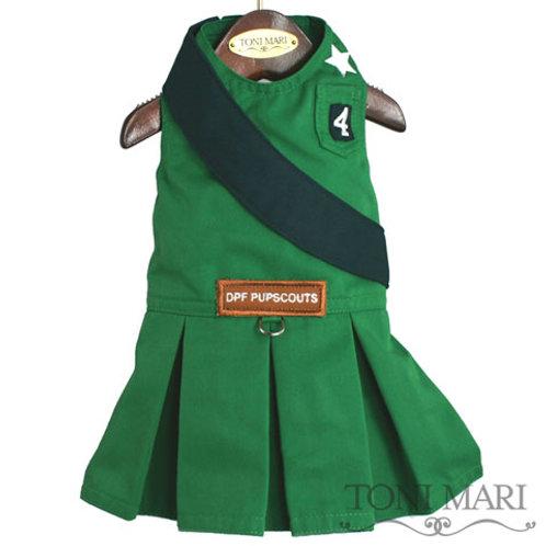 PupScout Girl Uniform - Green