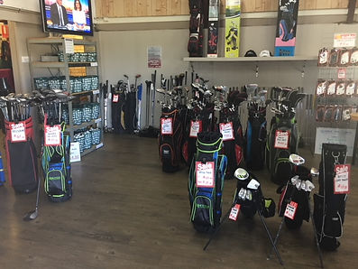 Golf Pro Shop at Newcastle Golf Practice Centre