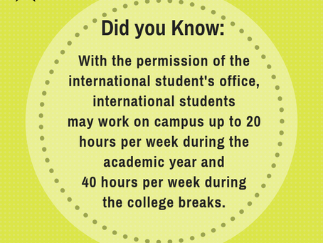 On-Campus Jobs for International Students