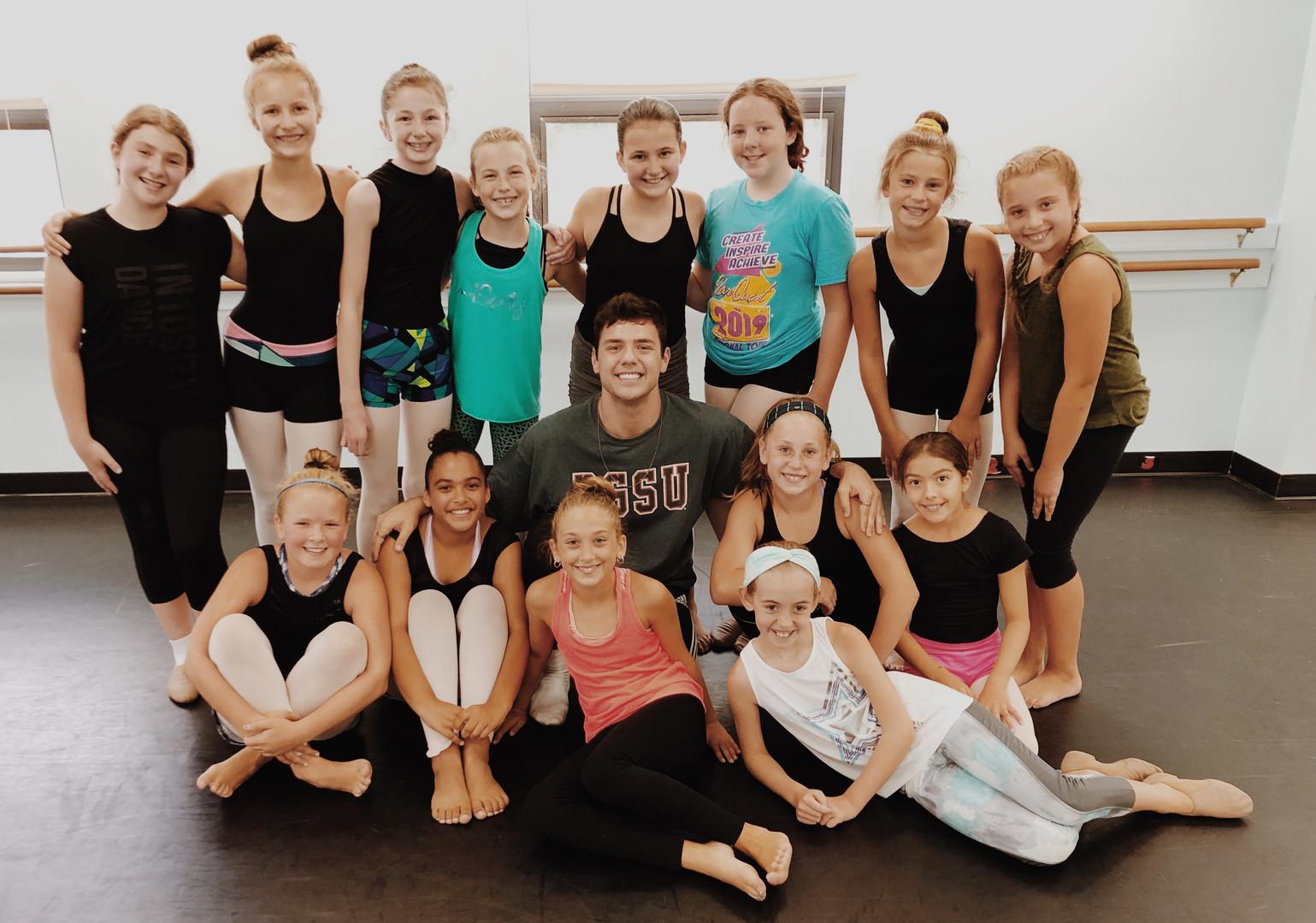 North Andover School of Dance Summer Intensive