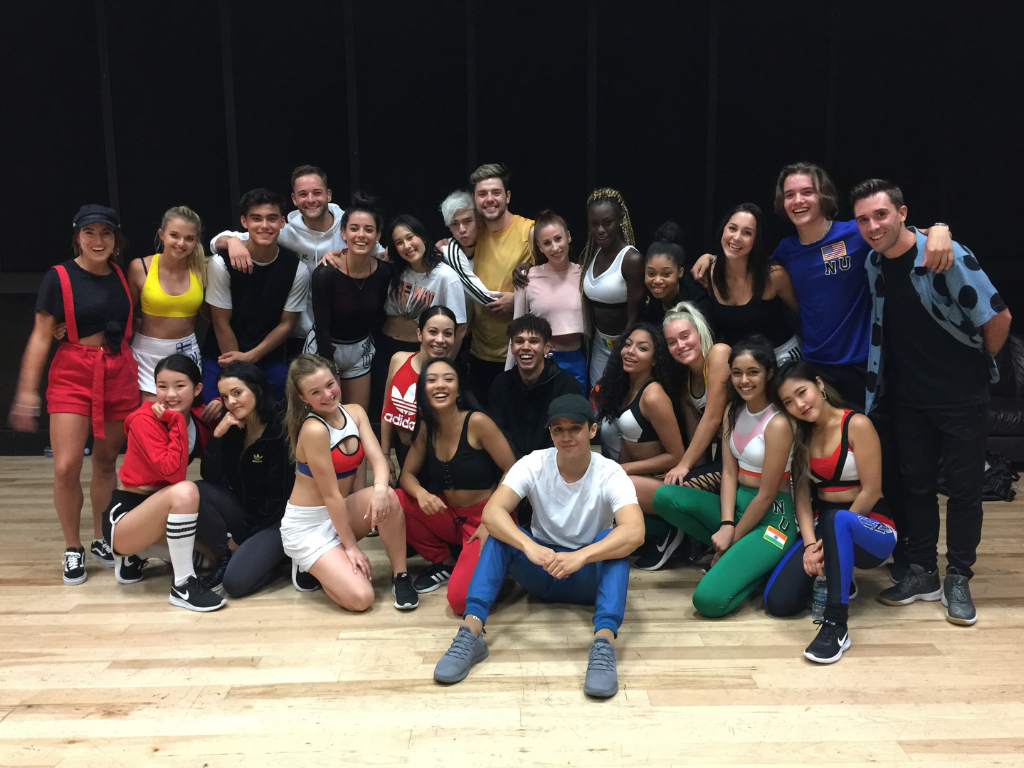 Now United Promo Tour Rehearsal with Kyle Hanagami