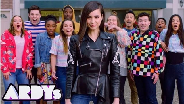 2019 Ardy's Promo Commercial with Sofia Carson