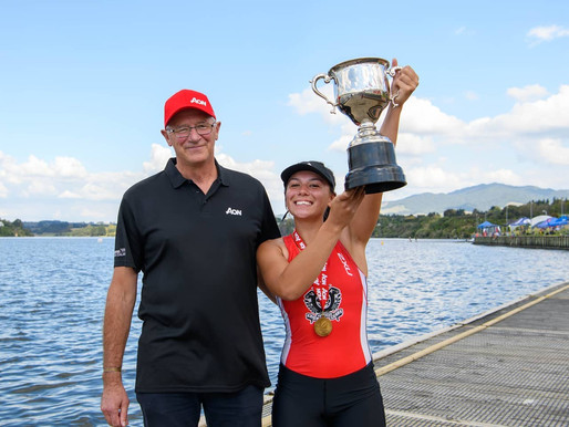 Sophia wins Secondary Schools rowing title, and a $12k boat at the Maadi Cup