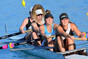 Clifton Rowing Club - NZ Rowing Nationals 2021 - Lake Ruataniwha