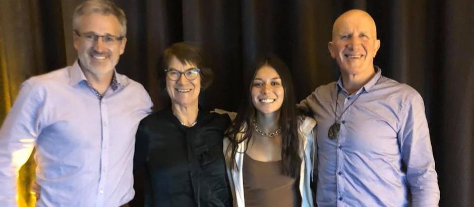 Huge congratulations to Sophia Hodson, 2021 Taranaki Junior Sportswoman of the Year