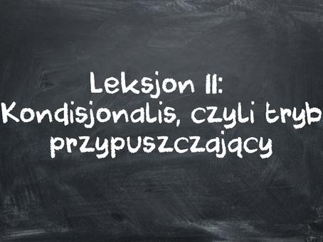 Leksjon 11: Kondisjonalis