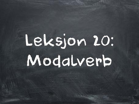Czasownik modalny - Modalverb