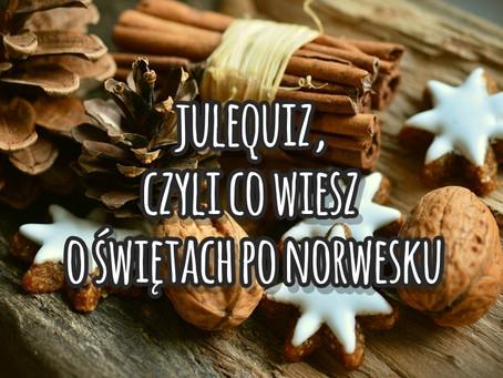 Julequiz, czyli co wiesz o świętach po norwesku