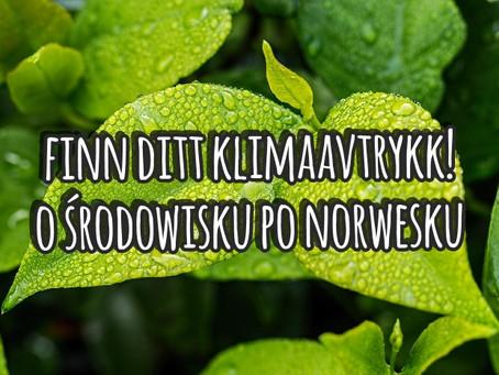 Finn ditt klimaavtrykk! O środowisku po norwesku