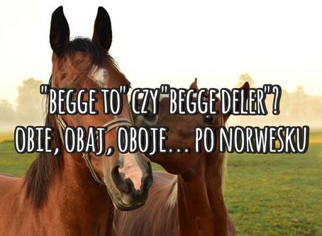 """""""Begge to"""" czy """"begge deler""""? Obie, obaj, oboje... po norwesku"""