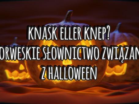 Knask eller knep? Norweskie słownictwo związane z Halloween