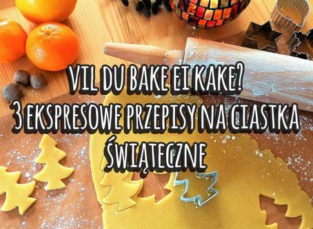 Vil du bake ei kake? 3 ekspresowe przepisy świąteczne