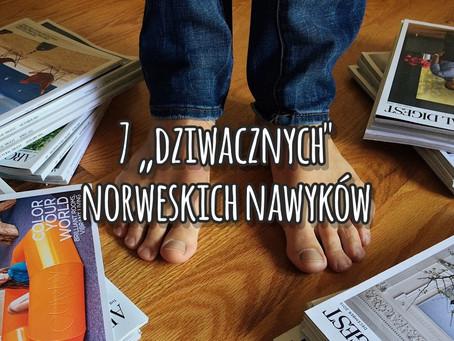 """7 """"dziwacznych"""" norweskich nawyków"""