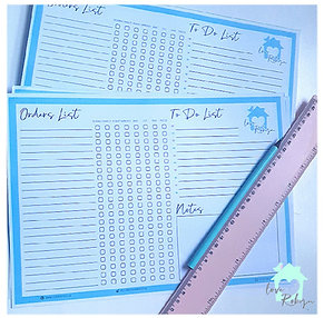 Personalised Tear-off Notepad