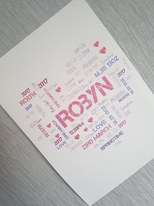 Typography Art Prints