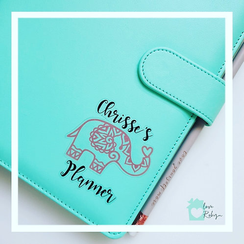 Personalised Pastel A5 Planner