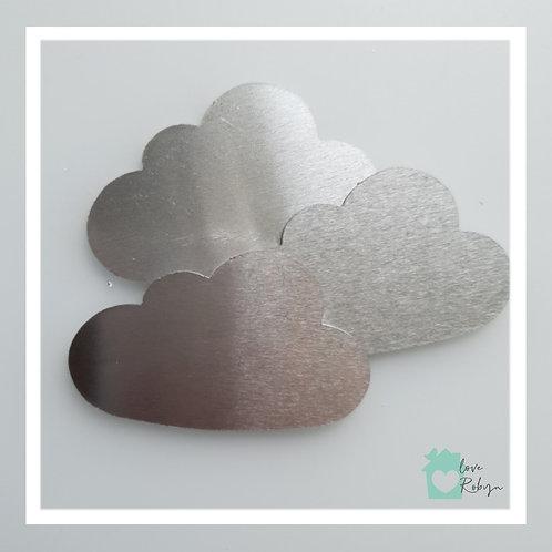 Engraved Cloud Keyring