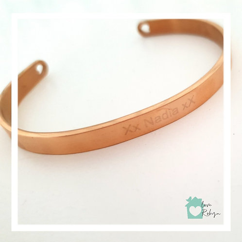 Heart Double Ended Bangle