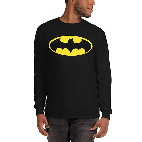 Batman Retro Men's Long Sleeve Shirt