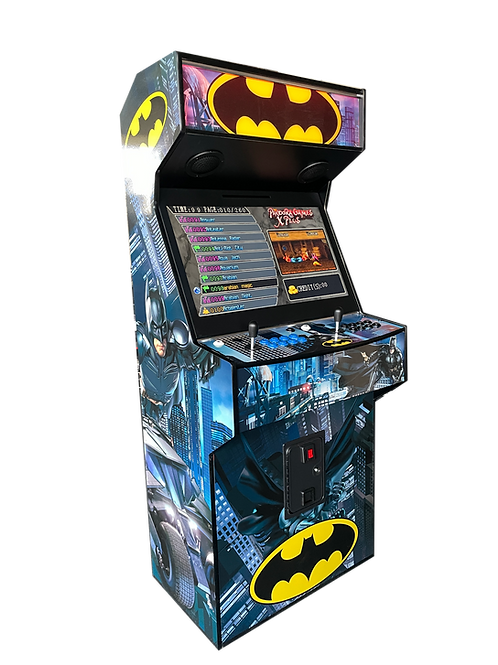 Arcade Machine Decals (Printed on high tack gloss finish vinyl)