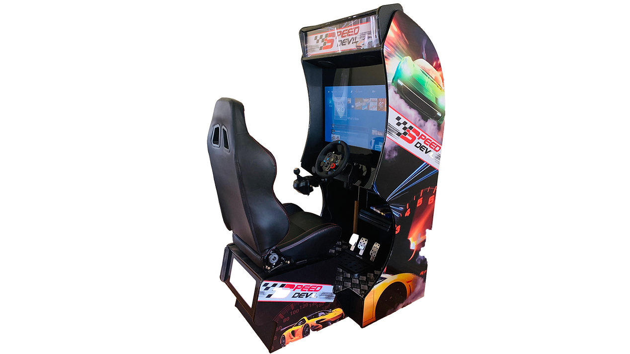 Retro Play Arcade Racing Sim