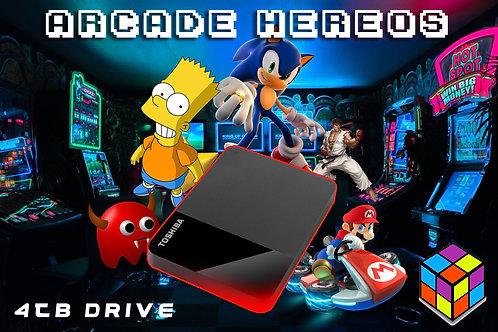 Arcade Hard Drive USB with Launchbox (FREE POSTAGE)