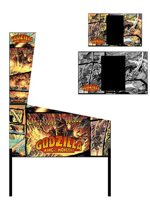 Godzilla Pinball Photoshop Files