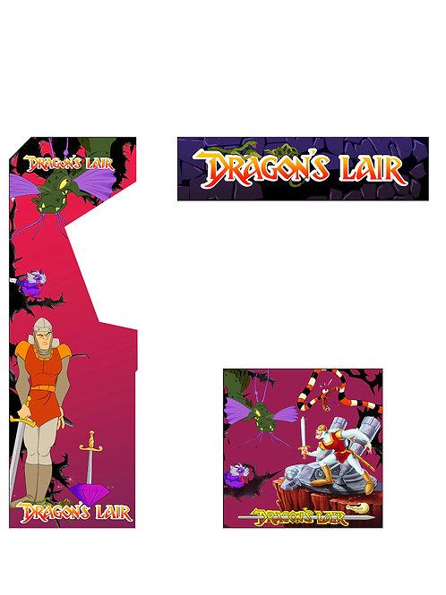 Dragons Lair Artwork Photoshop Files