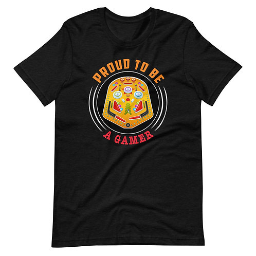 Proud to be a Gamer Short-Sleeve Unisex T-Shirt
