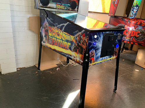 Back to the Future Pinball Photoshop Files