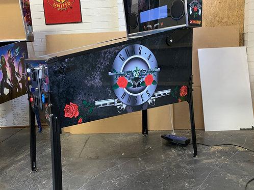 Guns N Roses Pinball Photoshop Files
