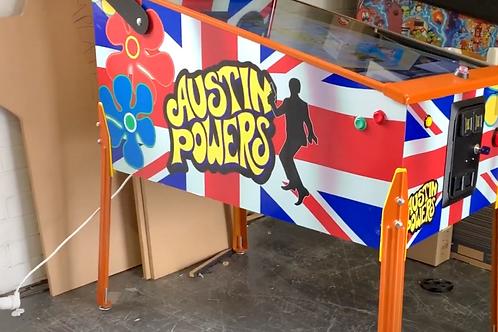 Austin Powers Pinball Photoshop Files