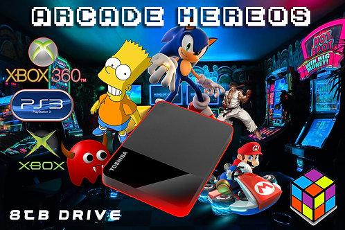 Arcade Hard Drive USB with Launchbox 8TB