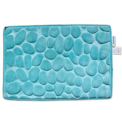 Jeanzer Memory Foam Bath Mat Non Slip Absorbent Super Cozy Velvet Bathroom Rug