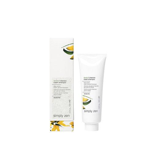 dandruff intensive cream shampoo