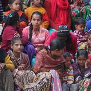 Local Villagers at Menri