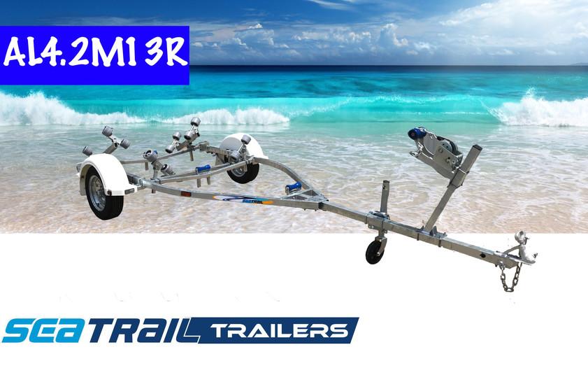 SEATRAIL AL4.2M13R ROLLERED BOAT TRAILER