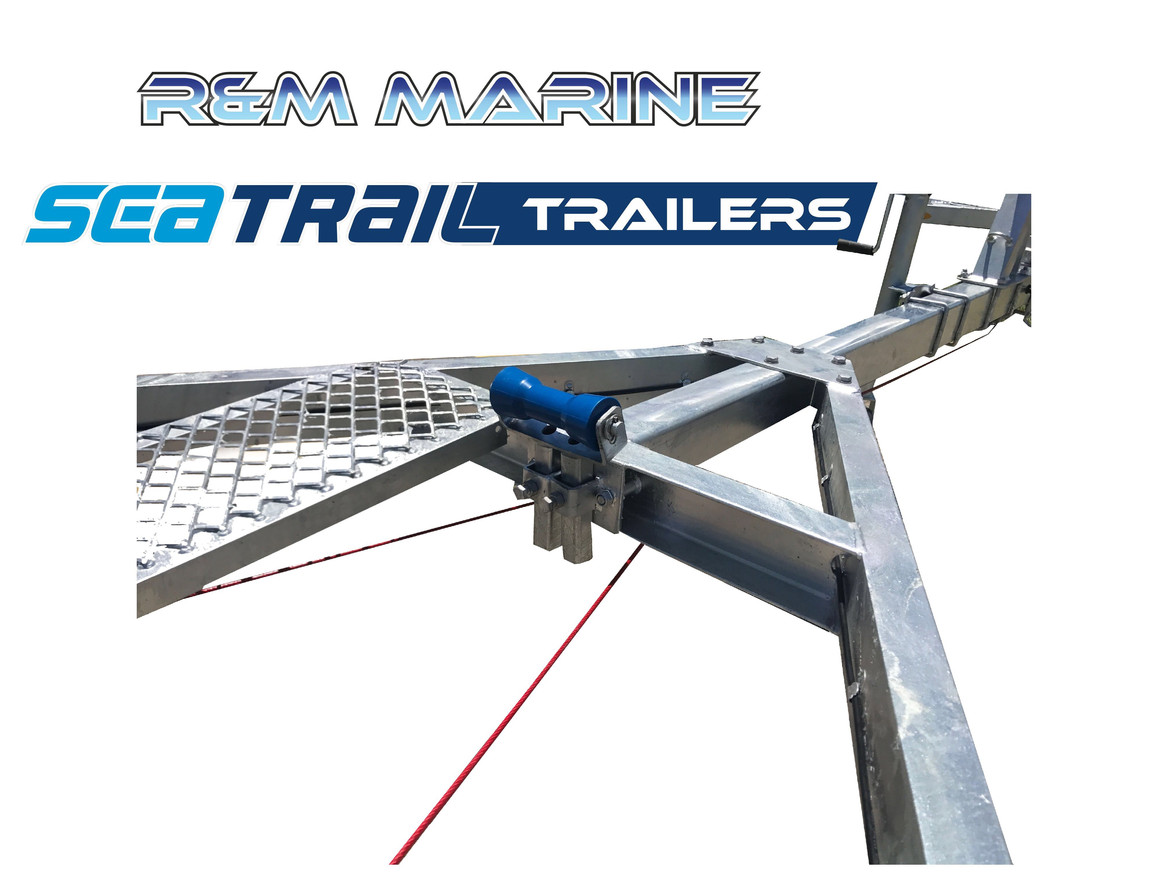 SEATRAIL 5.2M C-CHANNLE SKID BOAT TRAILER